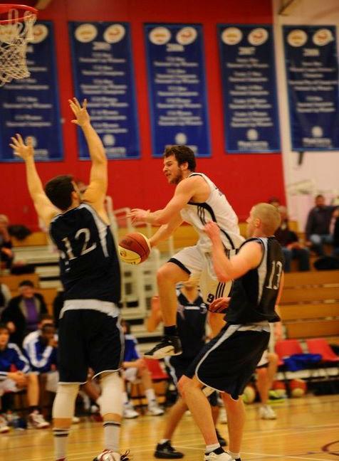 D Szakowski London United Basketball 2010